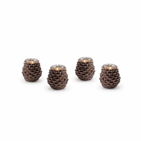 SPI Home Pinecone Votive Candleholders