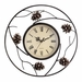 SPI Home Pinecone Wall Clock