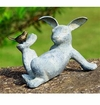 SPI Home Playful Rabbit Garden Sculpture