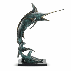 SPI Home Predatory Marlin Sculpture