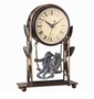 SPI Home Romancing Frogs Clock