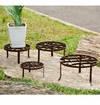 SPI Home Round Nested Plant Stands Set of 4