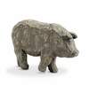 SPI Home Rustic Pig Sculpture