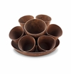 SPI Home Rustic Seven-Pot Planter for 4 inch pots