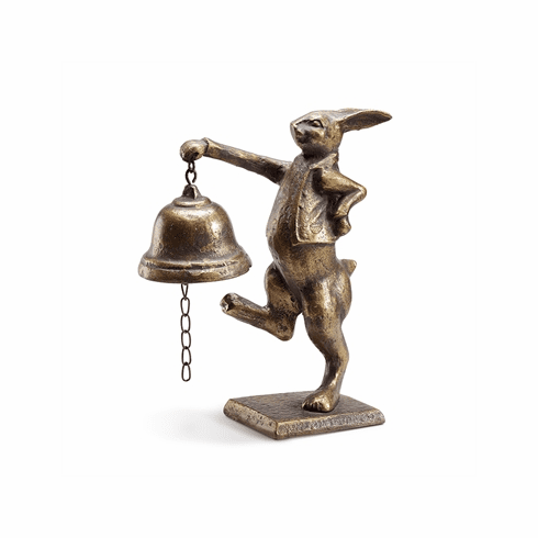 SPI Home Skipping Bunny Table Bell
