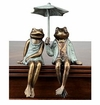 SPI Home Sophisticated Frog Couple Shelf Sitters