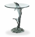 SPI Home Surfacing Dolphin End Table