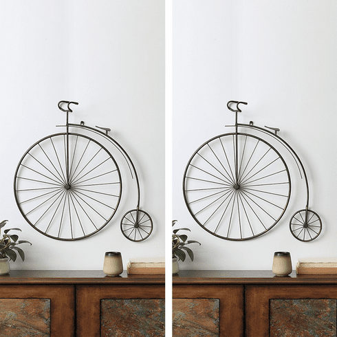 SPI Home Victorian Bicycle Wall Hanging