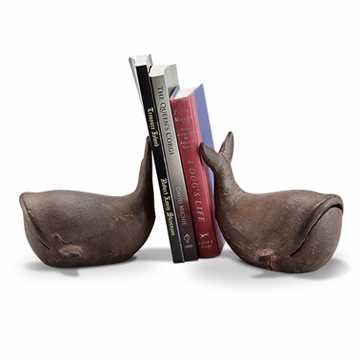 SPI Home Whale Bookends Pair