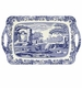 Spode Blue Italian Pimpernel Accessories Large Melamine Handled Tray