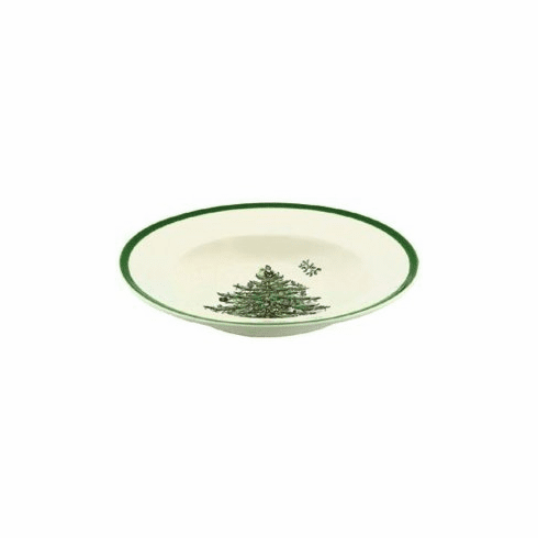 "Spode Christmas Tree 9"" Soup Bowls Set of 4"