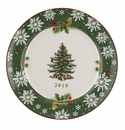 Spode Christmas Tree Annual Border 2019 Annual Collector Plate