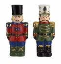 Spode Christmas Tree Figural Collection Nutcracker Salt and Pepper Set