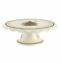 Spode Christmas Tree Gold Collection Footed Cake Plate