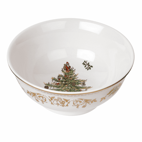 Spode Christmas Tree Gold Small Bowl