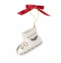 Spode Christmas Tree Ornaments Baby's First Christmas Booties Annual 2019