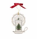 Spode Christmas Tree Ornaments Candle Ornament