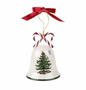 Spode Christmas Tree Ornaments Candy Cane Bell Ornament