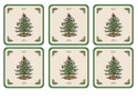Spode Christmas Tree Pimpernel Gifts Coasters Set of 6