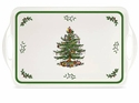 Spode Christmas Tree Pimpernel Gifts Large Melamine Handled Tray