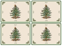 Spode Christmas Tree Pimpernel Gifts Placemats Set of 4