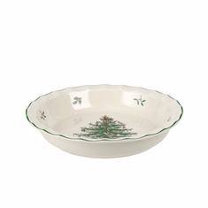 Spode Christmas Tree Sculpted Pie Dish