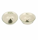 Spode Christmas Tree Serveware Dip Bowls, Set of 2