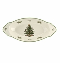 Spode Christmas Tree Serveware Handled Serving Platter