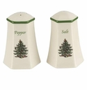 Spode Christmas Tree Serveware Hexagonal Salt and Pepper Set