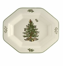 Spode Christmas Tree Serveware Octagonal Server