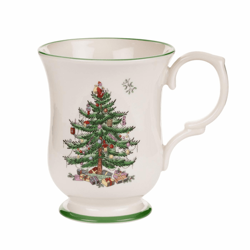 Spode Christmas Tree Serveware Romantic Footed Mug