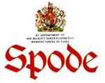 Spode Tableware Use & Care