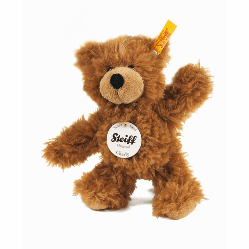 Steiff Charly Dangling Teddy Bear Brown Small