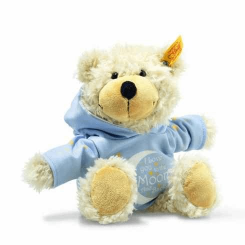 Steiff Charly Love You Dangling Teddy Bear With Hoody Beige