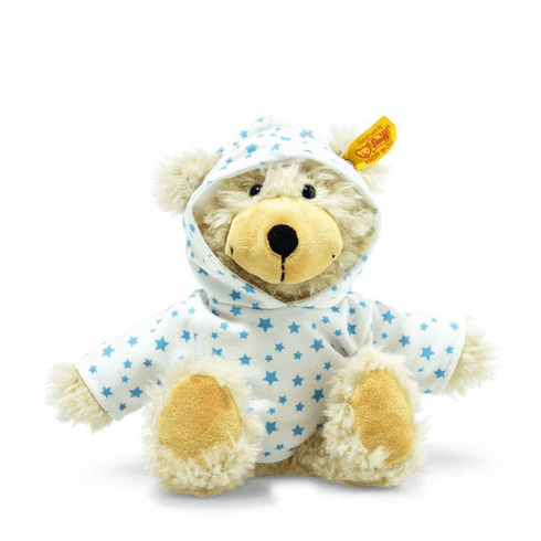 Steiff Charly Stars Dangling Teddy Bear With Hoody Beige