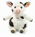 Steiff Cowaloo Spotted White and Black Stuffed Animal Large