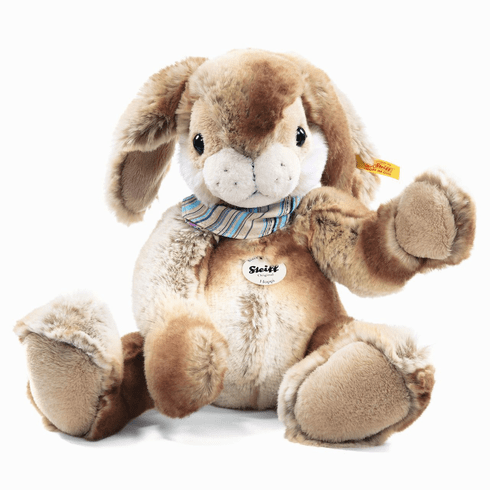 Steiff Hoppi Dangling Rabbit Beige/Brown Large