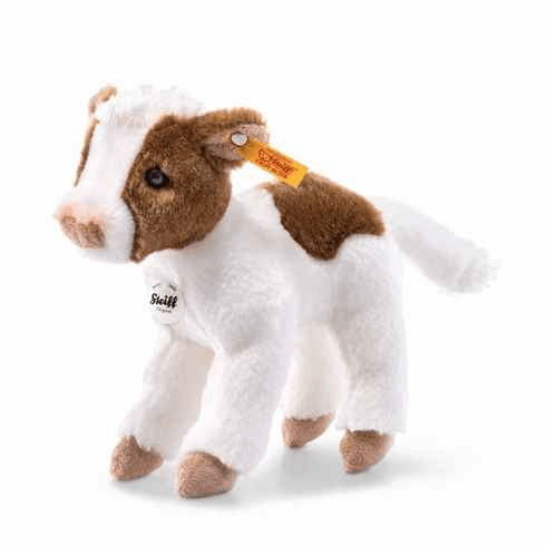 Steiff Lischen Calf Spotted White/Brown
