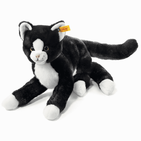 Steiff Mimmi Dangling Cat Black/White