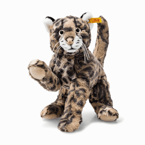 Steiff National Geographic - Ozzi Tiger Cat Striped Brown