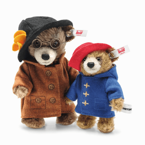 Steiff Paddington Aunt Lucy And Paddington Mini Set