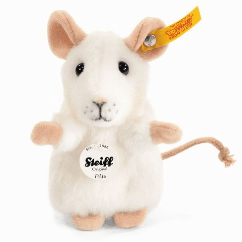 Steiff Pilla Mouse White