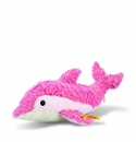 Steiff Sea Sweeties Dala Dolphin With Rustling Foil Squeaker Stuffed Animal