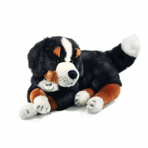 Steiff Sigi Bernese Mountain Dog Black/Brown/White