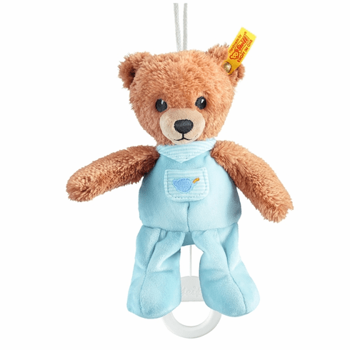 Steiff Sleep Well Bear Music Box Blue