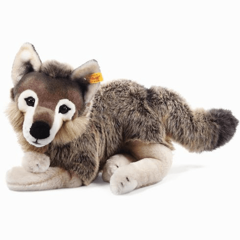 Steiff Snorry Dangling Wolf Grey/Brown