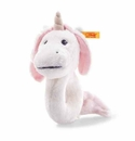 Steiff Unica Baby Unicorn Grip Toy with Rattle Stuffed Animal