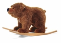 Steiff Urs Riding Bear Brown-Tipped Stuffed Animal