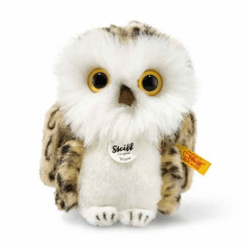 Steiff Wittie Owl Grey Brindled