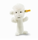Steiff Wooly Lamb Rattle Off White